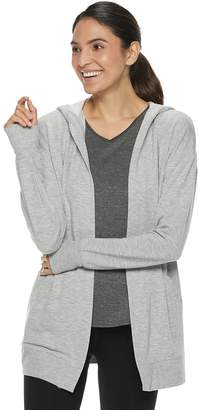 Tek Gear Women's Hooded Wrap Cardigan