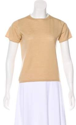 TSE Wool Short Sleeve Sweater
