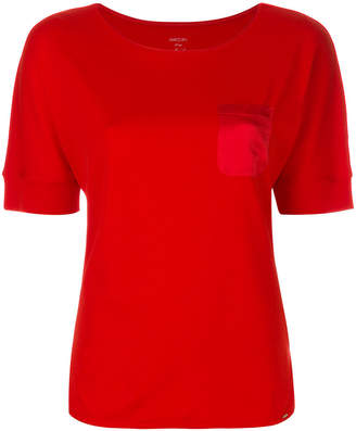 Marc Cain silk chest pocket T-shirt