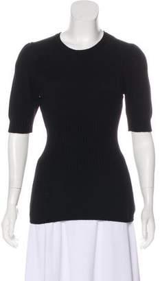 Dolce & Gabbana Short Sleeve Cashmere Top