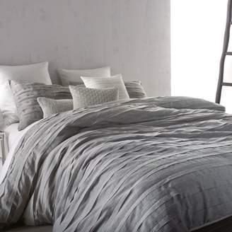 DKNY Loft Stripe Grey Duvet, Full/Queen