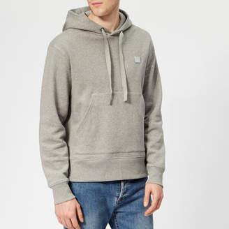 Men's Ferris Face Hoodie Light Grey Melange