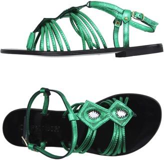 CAFe'NOIR Toe strap sandals