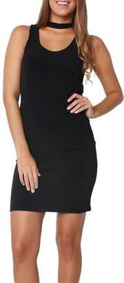 Velvet Bethel Black Dress