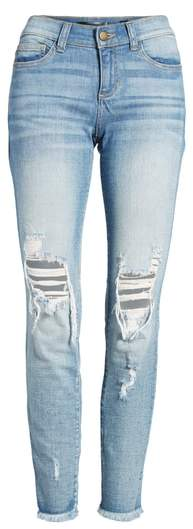SP Black Ripped Knee Skinny Jeans