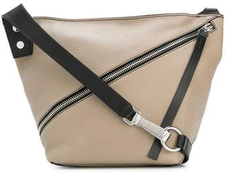 Proenza Schouler Small Pebbled Leather Zip Hobo