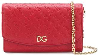 Dolce & Gabbana Love Is embossed wallet-on-a-chain