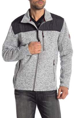Free Country Long Sleeve Zip Up Fleece Jacket