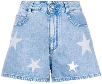 Stella McCartney denim Star shorts