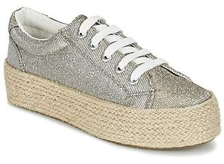 CAFe'NOIR ROVIKO women's Espadrilles / Casual Shoes in Silver
