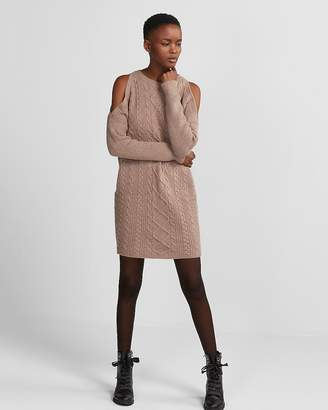 Cable Knit Sweater Dress Shopstyle