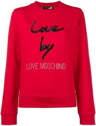Love Moschino Love sweatshirt