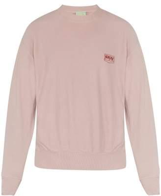 Aries Premium Temple Cotton Sweatshirt - Mens - Pink