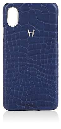 Hadoro Alligator iPhone® X Hard Case - Navy