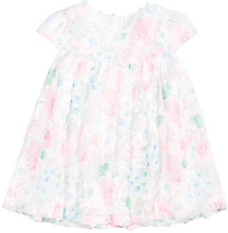First Impressions Baby Girls Floral-Rosette Dress, Created for Macy's