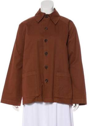 eskandar Woven Casual Jacket