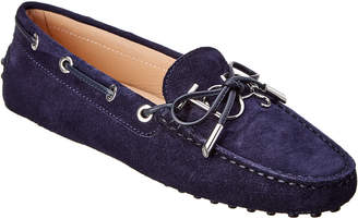 Tod's Gommino Suede Driving Moccasin