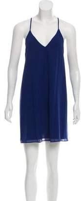 Alice + Olivia Silk Shift Dress