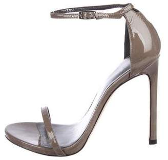 Stuart Weitzman Nudist Ankle Strap Sandals