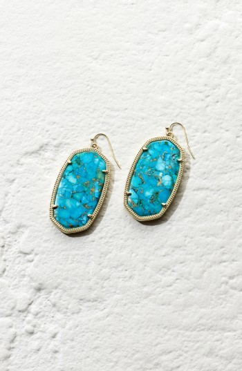 Women's Kendra Scott Danielle - Large Oval Statement Earrings 2