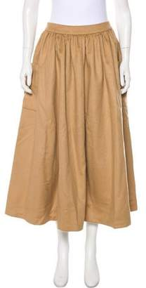Co 2018 Wool Pleated Midi Skirt w/ Tags