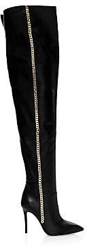 Giuseppe Zanotti Women's Giuseppe for Rita Ora Over-The-Knee Boots