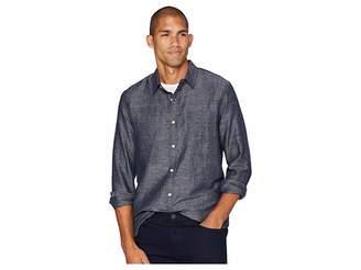 Lucky Brand Long Sleeve One-Pocket Ballona End on End Shirt