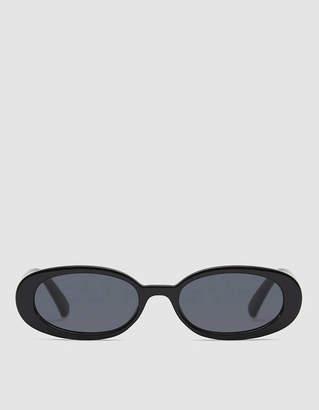 Le Specs Outta Love Sunglasses in Black