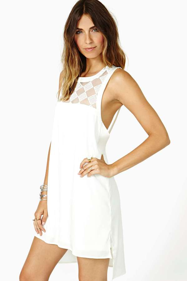 Nasty Gal Diamond Dream Dress
