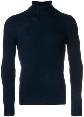 D'aniello La Fileria For ribbed turtle neck jumper