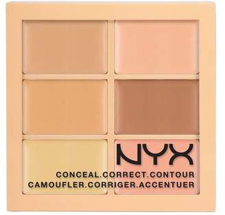 NYX (3 Pack Conceal, Correct, Contour Palette Light
