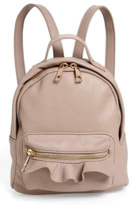 Emperia Tracie Mini Faux Leather Backpack