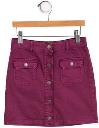 Stella McCartney Girls' Denim Skirt