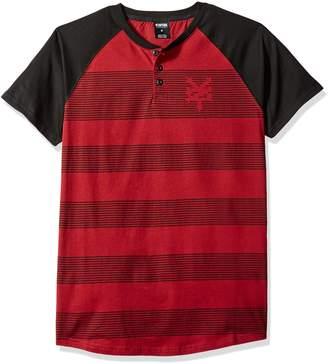 Zoo York Men's Short Sleeve Rugs Henley Shirt