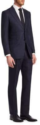 Canali Wool & Silk Two Button-Front Suit