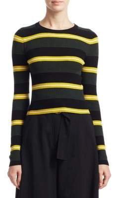 A.L.C. Shea Stripe Crewneck Sweater