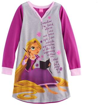 Disney Disney's Rapunzel Girls 4-8 Diary Nightgown