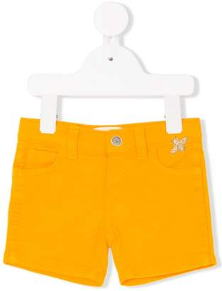 Gucci Kids embroidered Bee shorts