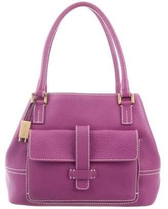 Loro Piana Leather Globe Bag