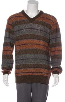 Missoni Uomo Wool & Mohair Sweater brown Uomo Wool & Mohair Sweater