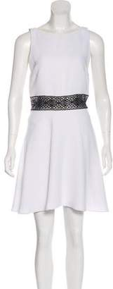 Alice + Olivia Sleeveless A-Line Dress
