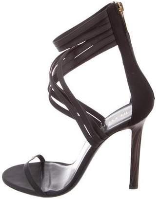 Tamara Mellon Leather Multistrap Sandals