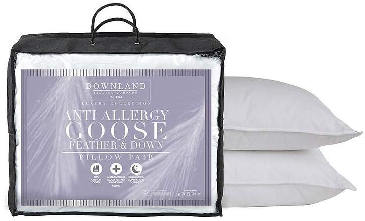 Anti-Allergy Goose Feather And Down Pillows