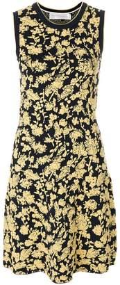 Victoria Beckham Victoria floral jacquard dress