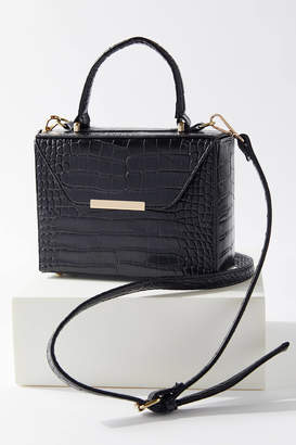 Urban Outfitters Top Handle Structured Crossbody Bag