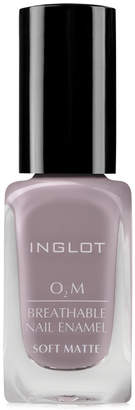 Inglot O2M Breathable Nail Enamel Soft Matte