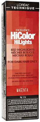 L'Oreal HiColor Red HiLights Magenta Permanent Creme Hair Color