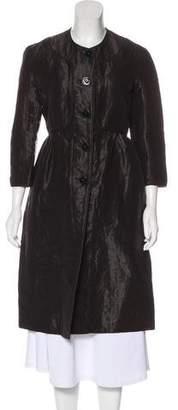 Burberry Linen-Blend Coat