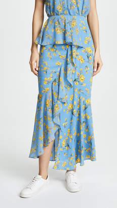 GOEN.J Asymmetrical Skirt with Ruffles