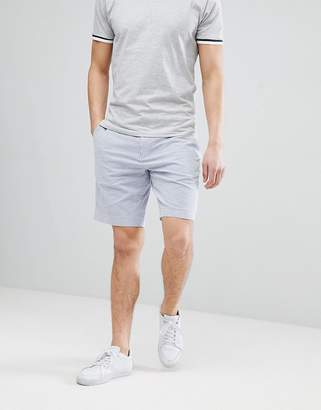 Polo Ralph Lauren Seersucker Stripe Chino Shorts With Multi Polo Player